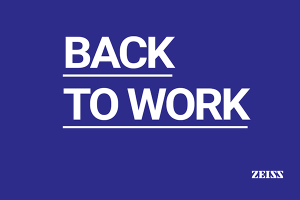 Back to work by Zeiss & Greenvision