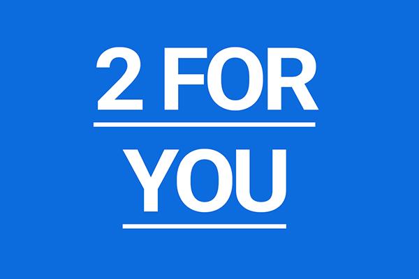 2 for you promozione progettovista