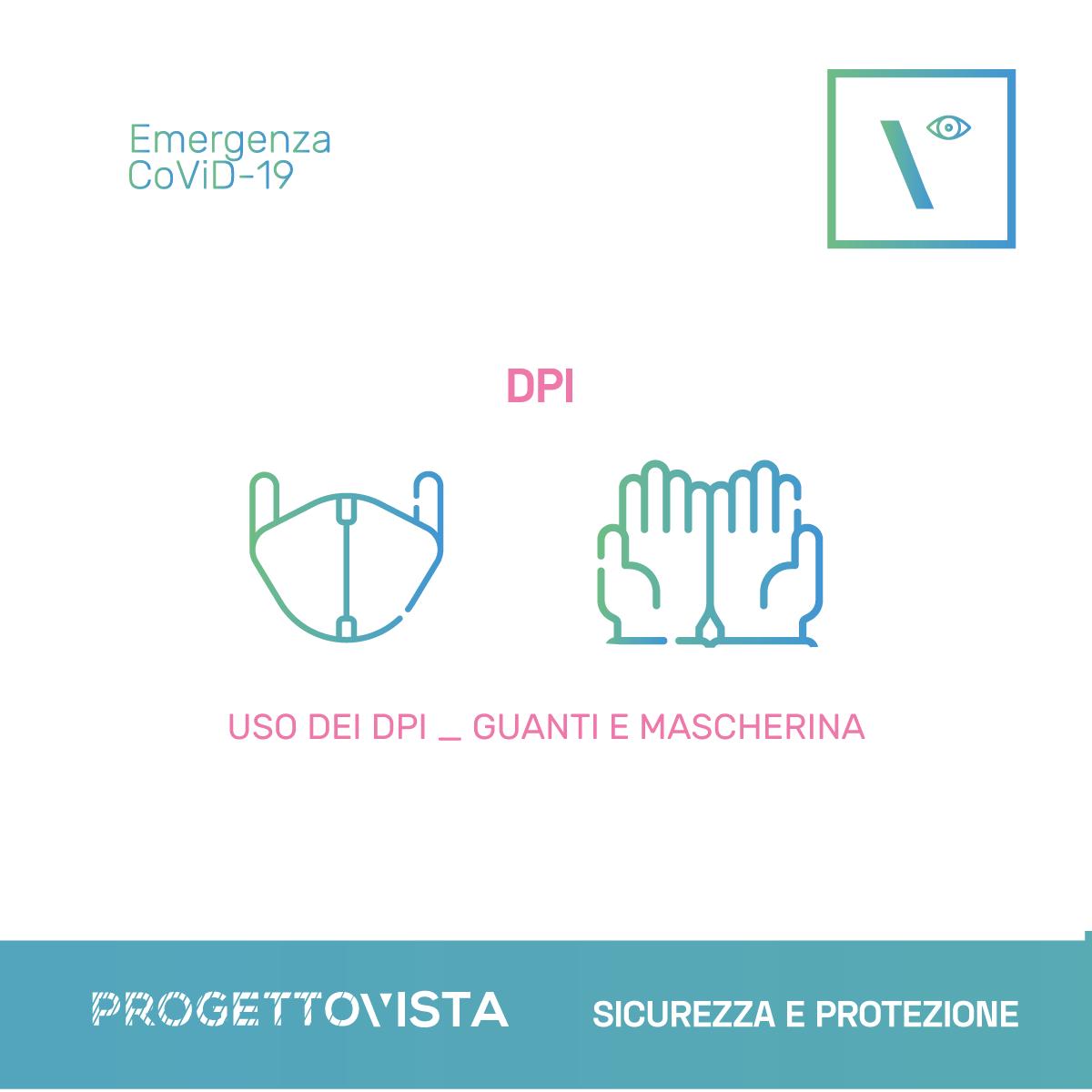 covid 19 Dispositivi sicurezza DPI distanza sociale Mascherina Guanti Schermi di protezione progettovista idee per i tuoi occhi